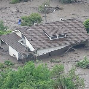 Valsusa, una frana si stacca dalla montagna e raggiunge Bussoleno: sei evacuati, 200 sfollati