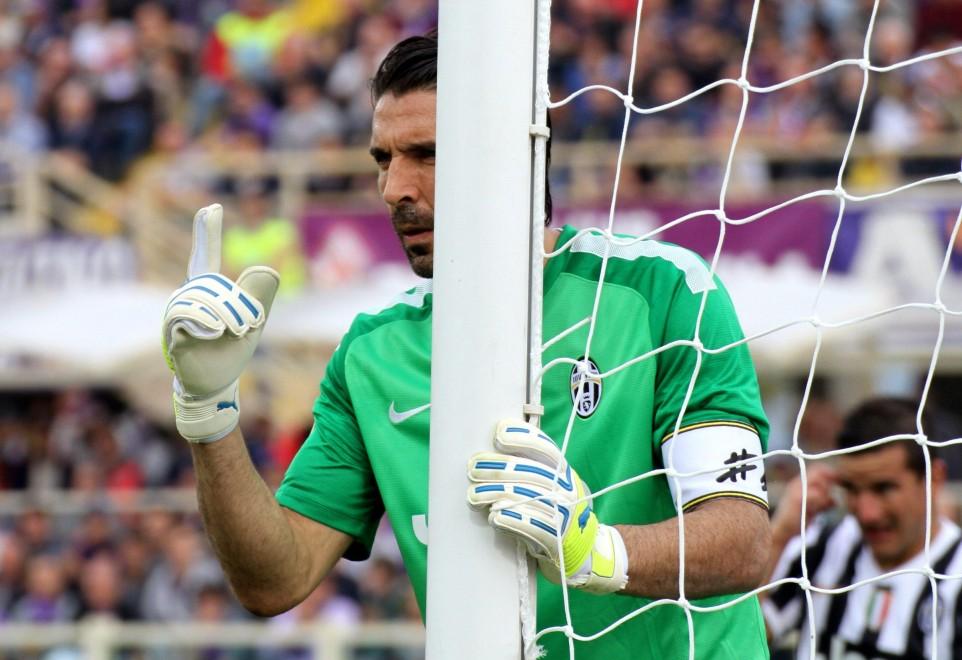 Buffon ha preso quattro bellissimi gol a Firenze
