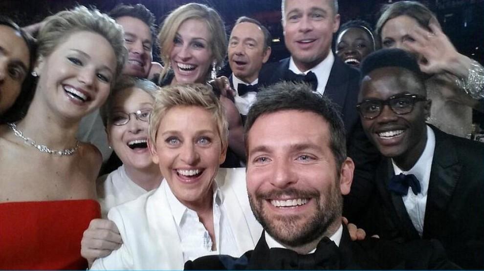 Oscar 2014, i selfie delle star