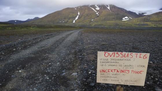 Islândia, alerta vermelho por vulcão Bardarbunga: Vôo bloqueado