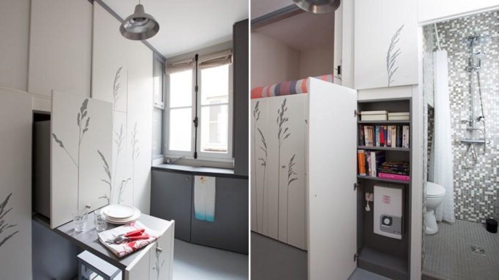 Parigi il mini appartamento di 8 mq si trasforma  Repubblicait