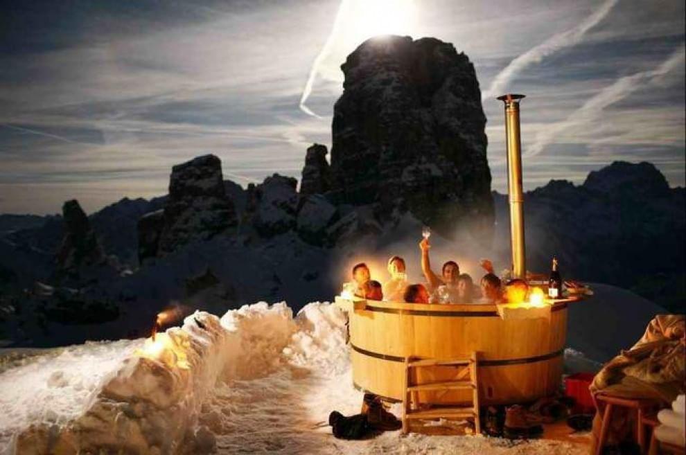 Caldo e freddo di lusso i bagni termali pi belli del