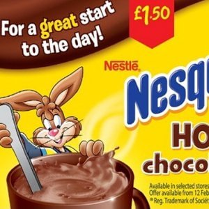 Troppo zucchero, Nestlé obbligata a cambiare la pubblicità Uk del Nesquik