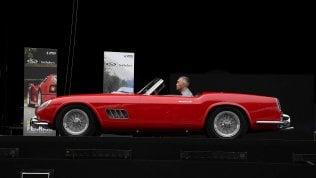 Ferrari, la festa anche per Schumie maxi asta per Save the Children