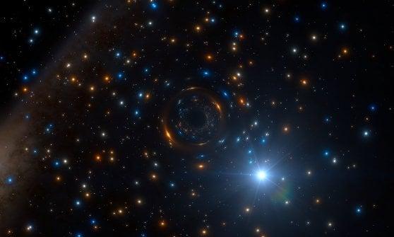 """Il mostro fra le stelle. Identificato nella Via Lattea il primo buco nero """"solitario"""""""