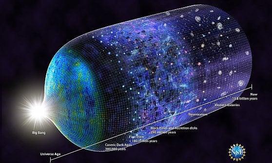 Ecco la prima stella dell'universo