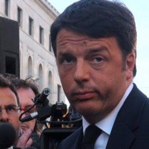 """Renzi: """"Ora un fronte anti-sfascisti, io sarò mediano"""""""
