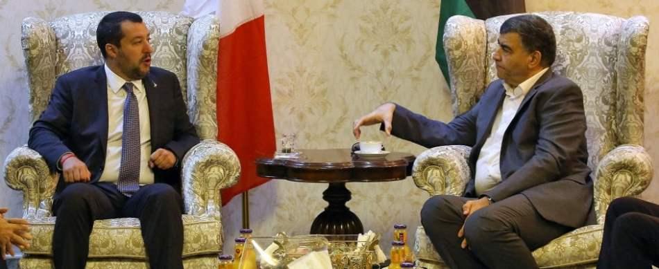 """Salvini: """"In Libia centri all'avanguardia, smontiamo retorica delle torture"""""""