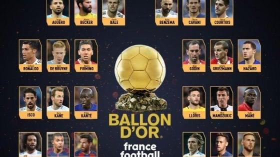Pallone Doro Ecco I 30 Candidati Nessun Italiano