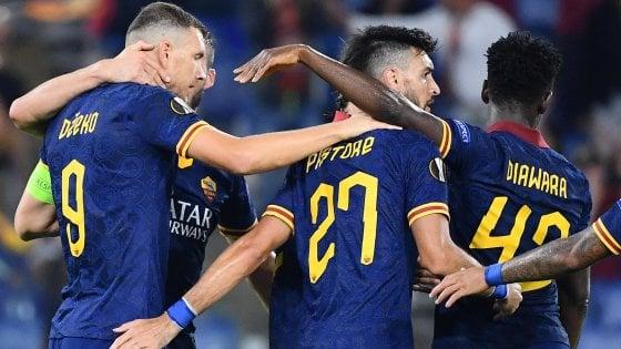 Europa League Roma Istanbul Basaksehir 4 0 Zaniolo Ispira