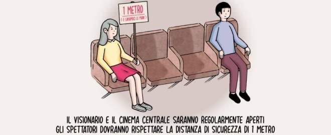 Nanni Moretti va al cinema e posta foto sui social, un invito per le sale a resistere