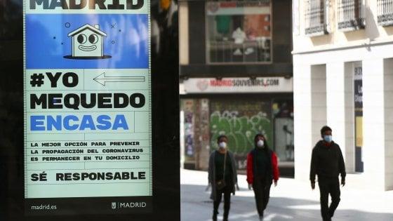 """Spania, Sanchez închide țara: """"E timpul responsabilității"""".  Chiar și soția sa pozitivă.  Val de coronavirus: 6400 de infecții și 192 de decese."""