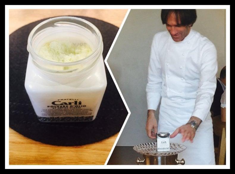 Cucinare da chef Davide Oldani e il suo olio in polvere  Cucina  Dit Repubblica