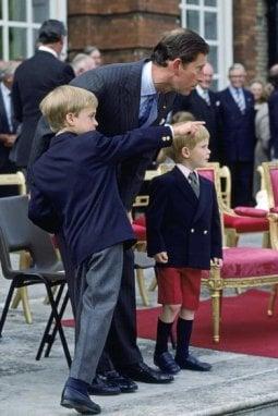 Dallalbum di casa reale inglese tutti i look del Principe Harry da bambino a oggi  Moda  D