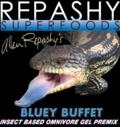 Repashy Bluey Buffet label