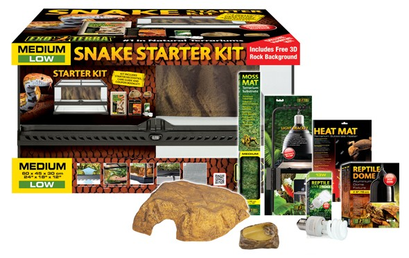 Exo Terra Reptile Kit for Snakes