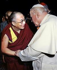 Dalai Lama e Wojtyla