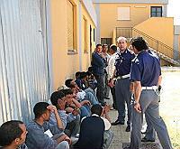 Il cpt di Lampedusa