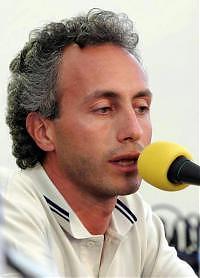 """<B>Paolo Rossi e Travaglio show<br>""""Salviamo la Costituzione e la tv""""</B>"""