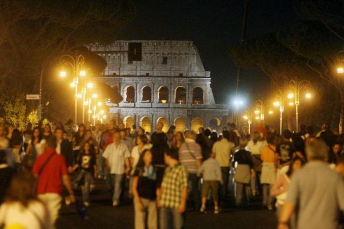 A Roma esplode la Notte Bianca