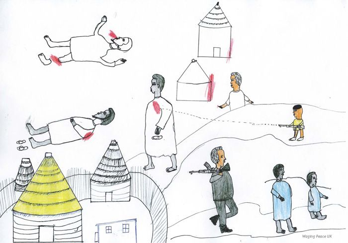 Drama Darfur the Drawings of Children