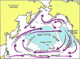 <B>Nel Pacifico l'Isola della spazzatura<br>per l'80 per cento formata di plastica</B>