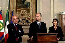 <B>Governo ombra, Di Pietro<br>