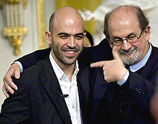 Rushdie-Saviano a casa Nobel