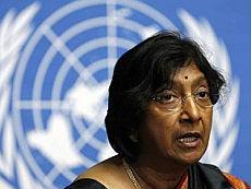 Navi Pillay, alto commissario Onu ai Diritti umani