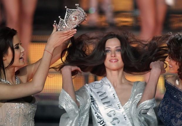 Ai piedi di Irina, la bellezza è russa