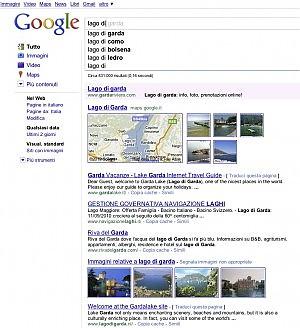 Google alla velocità della luce I risultati già mentre si scrive
