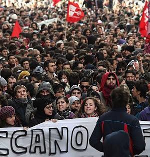 Studenti, operai, terremotati Tutti a Roma contro il governo