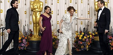 """Trionfa """"Il discorso del re""""  Portman e Firth, premi annunciati"""