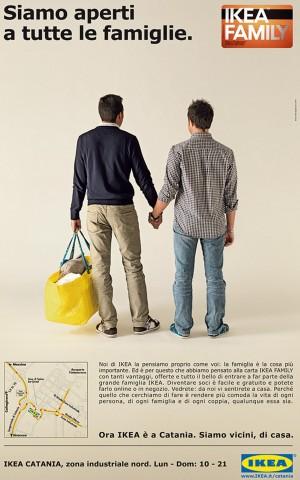 """Giovanardi contro l'Ikea per la pubblicità """"gay friendly"""""""