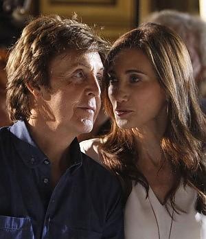 Le terze nozze di sir Paul McCartney sposa Nancy