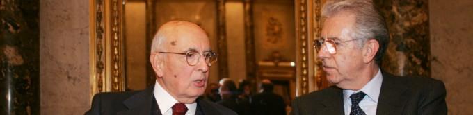 """Berlusconi:  """"Governo Monti scelta ineludibile""""    No di Di Pietro  - video.   Maroni: 'All'opposizione'"""