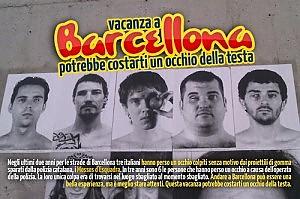 """""""Barcellona ti costa un occhio della testa"""" la battaglia di Nicola contro i proiettili di gomma"""