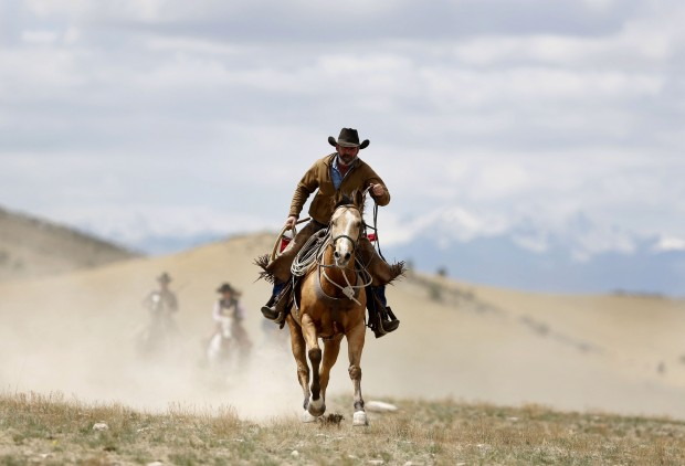 Montana a cavallo con i cowboy 60 chilometri in due giorni  1 di 25  Repubblicait