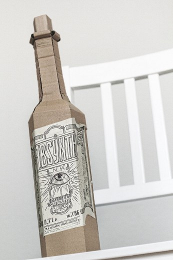 Bartek, l'artista delle scatole di cartone