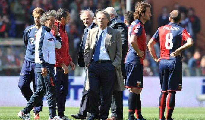Si tolsero la maglie su ordine dei tifosi Deferiti Preziosi e 16 giocatori del Genoa
