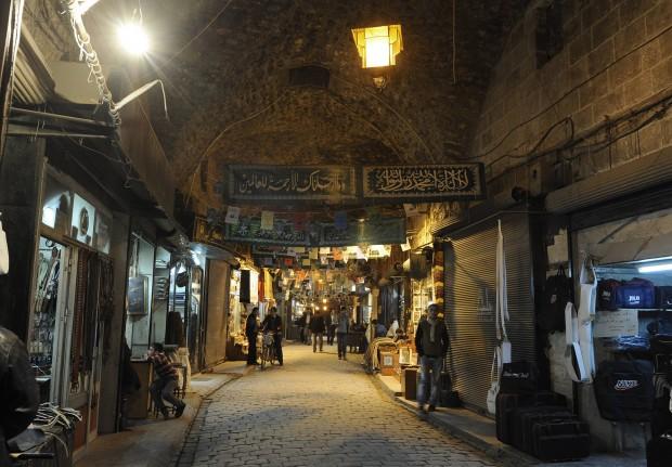 Aleppo il suk delle meraviglie a rischio  Repubblicait