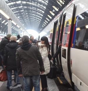 Concorrenza fra treno e aereo: vince a sorpresa la puntualità