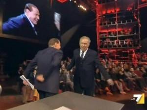 Tra Berlusconi e Santoro tanto rumore per nulla