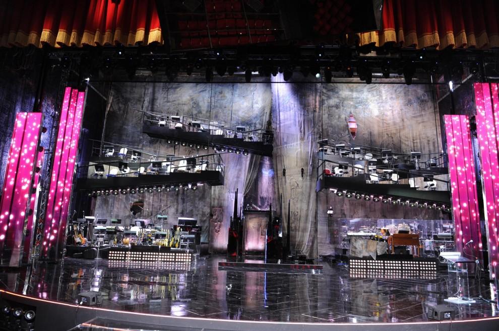Sanremo 2013, ecco la scenografia del Festival: l'ispirazione è barocca