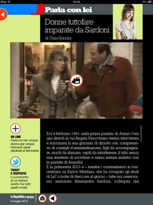 Donne tuttofare imparate da Sardoni  Repubblicait