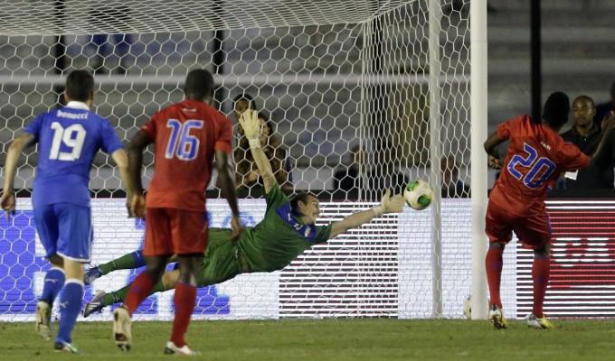 Italia-Haiti 2-2: lampo Giaccherini, ma gli azzurri deludono