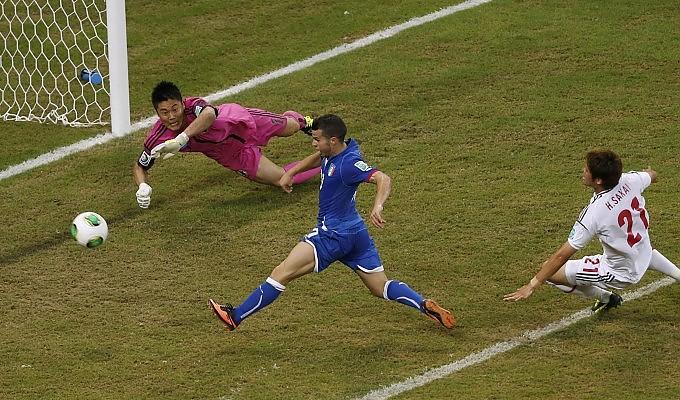 Confederations Cup, Italia-Giappone 4-3: azzurri avanti con cuore e fortuna