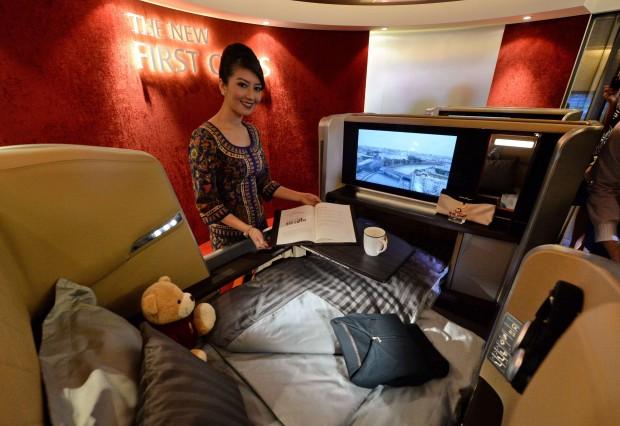 Singapore Airlines I nuovi interni degli aerei  Repubblicait