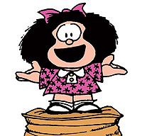 Mafaldinha agradece o carinho de sempre. :-)