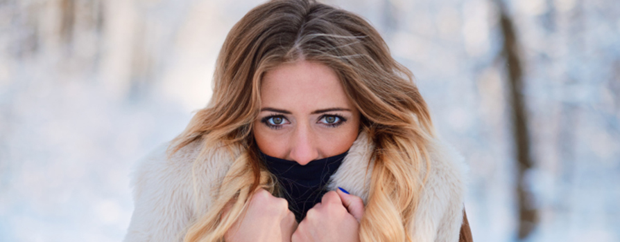 """Polvo y frío, esta es la """"cara de smog"""""""